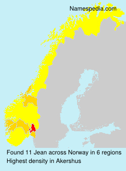 Surname Jean in Norway