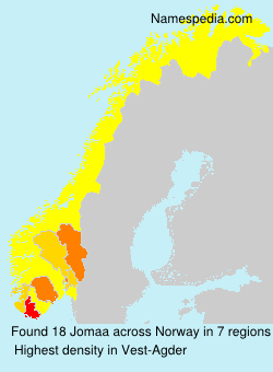 Surname Jomaa in Norway