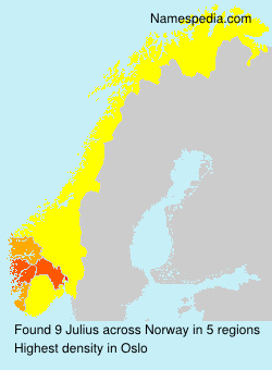 Surname Julius in Norway