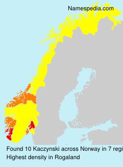 Kaczynski - Norway