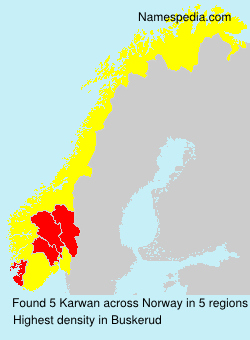 Surname Karwan in Norway