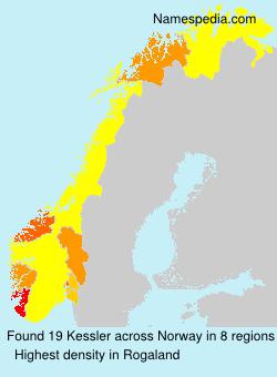 Surname Kessler in Norway