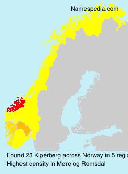 Surname Kiperberg in Norway