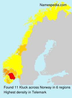 Surname Kluck in Norway
