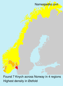 Surname Knych in Norway