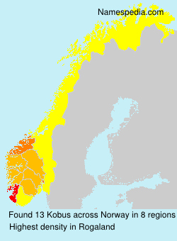 Surname Kobus in Norway