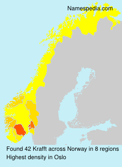 Surname Krafft in Norway