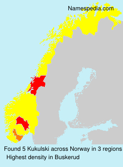 Surname Kukulski in Norway