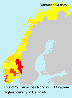 Surname Lau in Norway