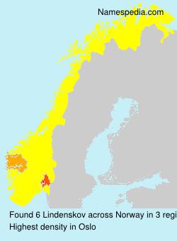 Familiennamen Lindenskov - Norway
