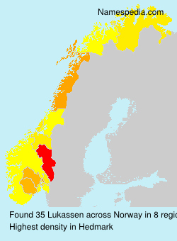 Surname Lukassen in Norway
