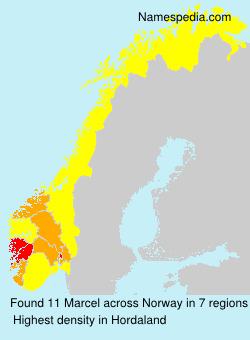Familiennamen Marcel - Norway