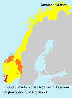 Surname Marita in Norway