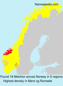 Surname Melchior in Norway