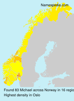 Surname Michael in Norway