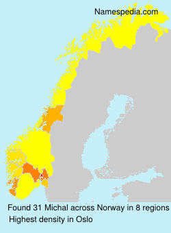 Surname Michal in Norway
