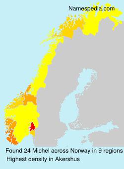 Surname Michel in Norway