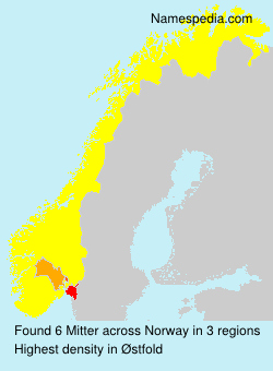 Surname Mitter in Norway
