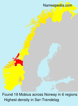 Surname Mobius in Norway