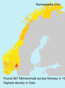 Surname Mohammadi in Norway