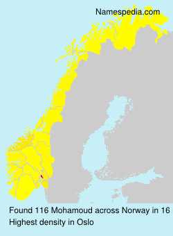Surname Mohamoud in Norway