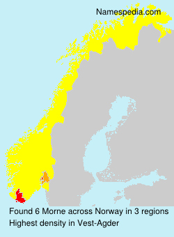 Surname Morne in Norway
