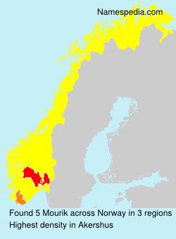 Surname Mourik in Norway