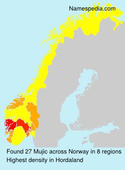 Familiennamen Mujic - Norway