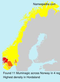 Surname Muminagic in Norway