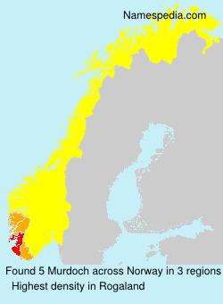 Surname Murdoch in Norway
