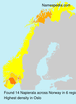 Surname Napierala in Norway