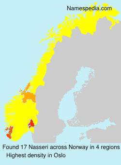 Surname Nasseri in Norway