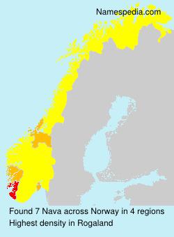 Surname Nava in Norway