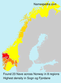 Surname Nave in Norway
