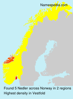 Surname Nedler in Norway