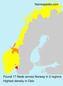 Familiennamen Neeb - Norway