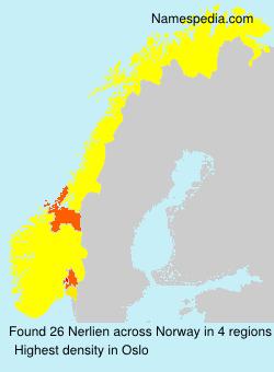 Familiennamen Nerlien - Norway