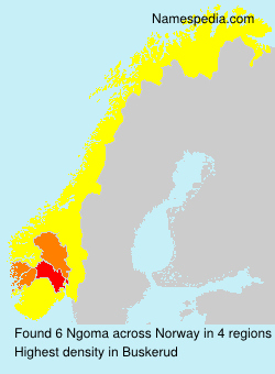 Surname Ngoma in Norway