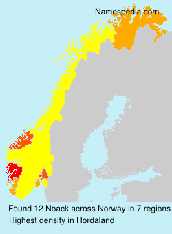 Surname Noack in Norway