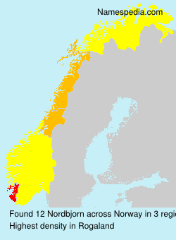 Surname Nordbjorn in Norway