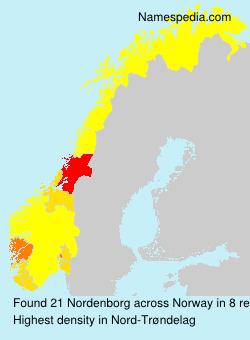Familiennamen Nordenborg - Norway