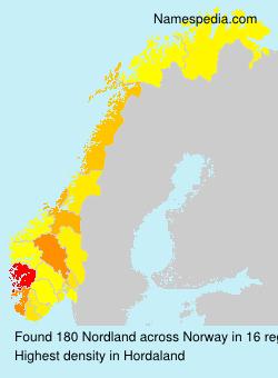 Familiennamen Nordland - Norway