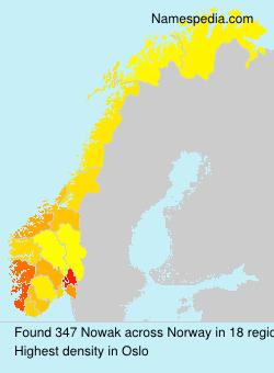 Surname Nowak in Norway