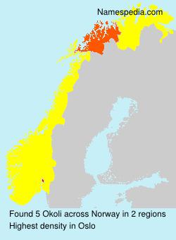 Surname Okoli in Norway