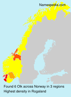 Familiennamen Olk - Norway