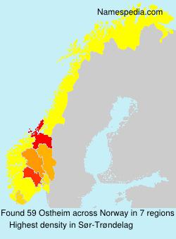 Familiennamen Ostheim - Norway