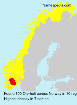 Familiennamen Oterholt - Norway