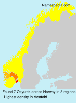 Surname Ozyurek in Norway