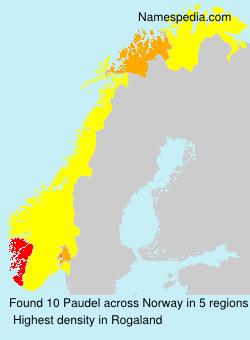 Surname Paudel in Norway