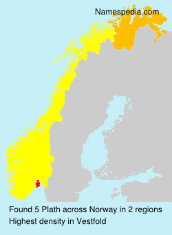 Surname Plath in Norway